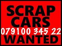 07910034522 SELL YOUR CAR VAN FOR CASH BUY MY SELL YOUR SCRAP Mot