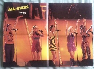 SPICE GIRLS Original Vintage All-Stars US Magazine Poster
