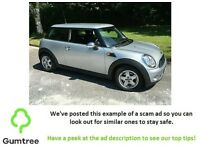 2008 - MINI Hatch 1.4 One 3-Door -- Read the description before replying!