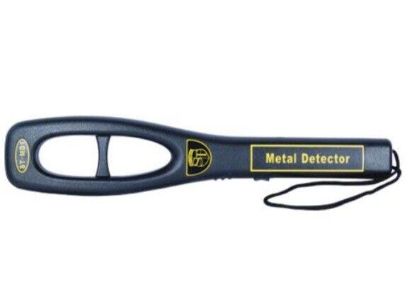 как выглядит Portable Handheld Metal Detector Security Super Body Scanner Wand RECHARGE Port фото
