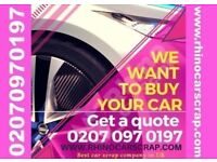 SELL MY CAR | ALL VEHICLES WANTED | IMMEDIATE CASH | BEST PRICES PAID | RHINO CAR BUYER