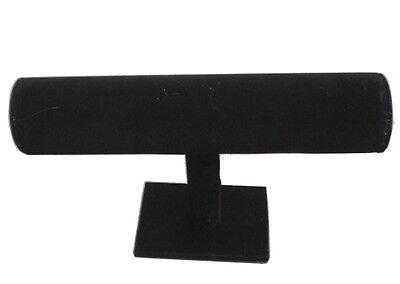 2 Velvet One Level Bracelet Rack Holder New Counter Horizontal Display Jewelry