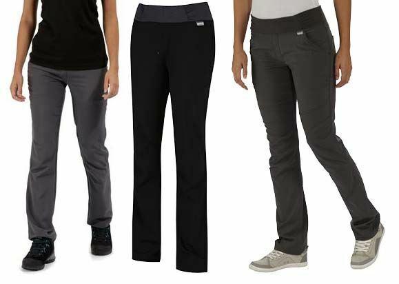Regatta Womens Zarine Water Resistant Isoflex Stretch Walking Trousers