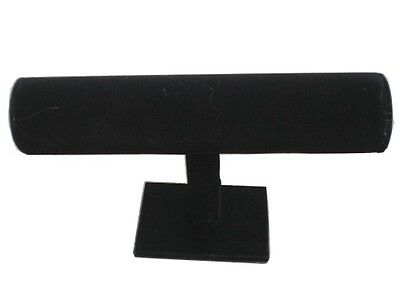 Black Velvet Single Level Bracelet Display Rack Jewelry Displays Racks New Jl490