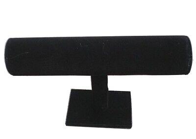 Black Velvet Single Level Bracelet Display Rack Jewelry Displays Racks New Jl490