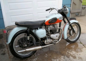 TRIUMPH BSA NORTON PROJECT BIKES WANTED ANY CONDITION