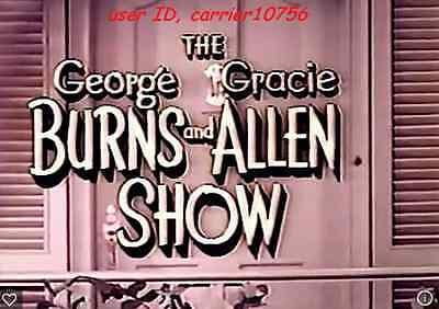 GEORGE BURNS AND GRACIE ALLEN SHOW W/SPECIALS 271 EPISODES-MOST DISCS BEST VALUE