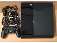 Standard Black Sony PS4 For Sale