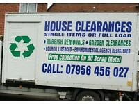 RUBBISH CLEARANCE REMOVAL DISPOSAL JUNK WASTE MOVED MATTRESSES FRIDGE FREEZERS REMOVAL SERVICE