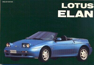 Lotus Elan - out-of-print book by Automobilia