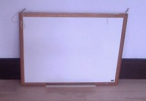 White board, large cork bulletin board $ 3 ea or both for $ 5