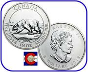 Silver Polar Bear Coin