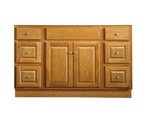oak bathroom cabinet ebay