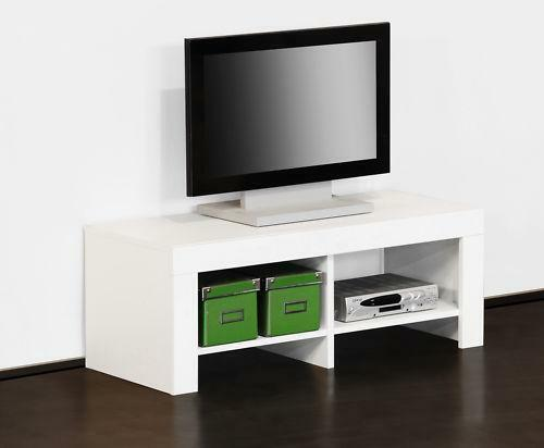 fernsehtisch weiss tv hifi tische ebay. Black Bedroom Furniture Sets. Home Design Ideas