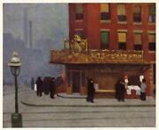 Edward Hopper Print