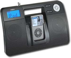 Insignia NS-B3113B - Boombox with AM/FM Radio and iPod Dock