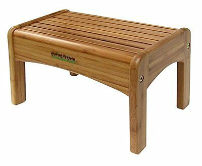 Wooden Step Stool - New Wooden Step Stool Wood 200 lbs Lightweight Non Slip 7