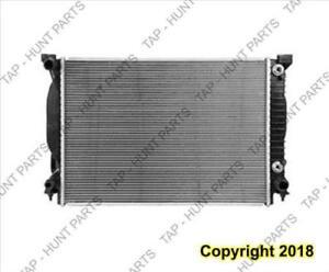 Radiator (2590) 6-Cylinder Audi A4 2002-2005