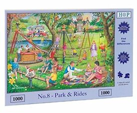 House Of Puzzles - 1000 PIECE JIGSAW PUZZLE - Park & Rides Find The Differences