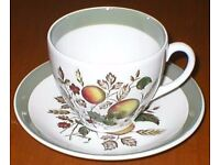 """Alfred Deakin """"Hereford"""" Cup & Saucer - In Very Good Condition - Ideal If You Need A Spare !"""