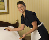 Experienced person required for Hotel Housekeeping