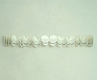 Dollhouse Halloween Party Decoration Skulls Garland for Miniature Haunted House - Party Decorations For Halloween