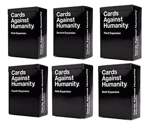 Cards Against humanity all expansion packs