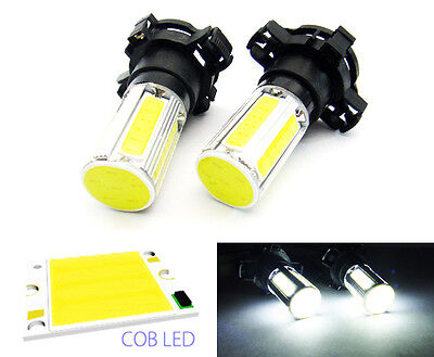 2x 25W COB LED PY24W 5200 for BMW Mercedes VW Audi Front Turn Signal Light Bulb