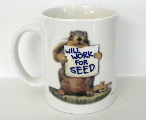Squirrel Mug Ebay