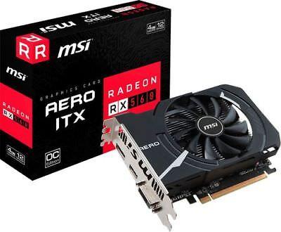 Msi   Amd Radeon Rx 560 Aero Itx Oc 4G Gddr5 Pci Express 3 0 Graphics Card