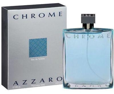 Chrome By Azzaro Men Cologne 6 7   6 8 Oz Edt Men New In Box Sealed