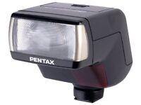Brand New Pentax AF 330FTZ - Hot-shoe clip-on flash