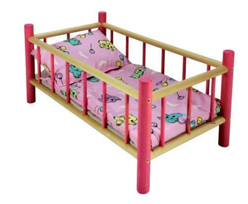 Baby dolls cot ebay for Baby cot decoration gallery