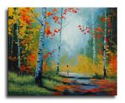 Fall Oil Painting