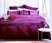 Double Quilt Cover Set Purple