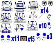 Lego Star Wars Custom Clones