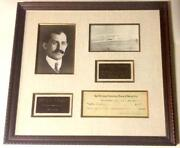 Orville Wright Signed