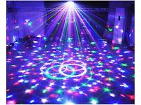 Bright Multi Mirror Ball Moving Pattern LED Lighting Effect Auto Controls Dj Disco Party Band Club