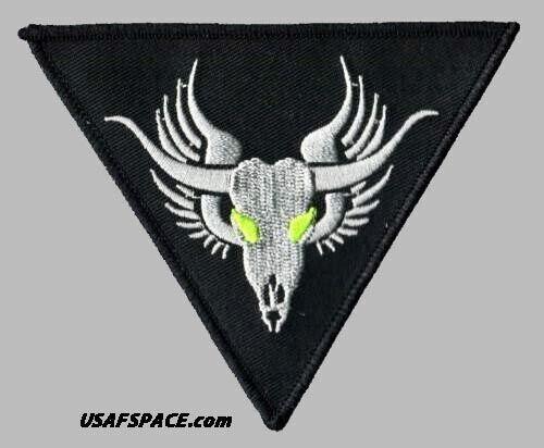 MINOTAUR LOCKHEED MARTIN AREA 51 BLACK OPS SKUNK WORKS CLASSIFIED USAF DOD PATCH