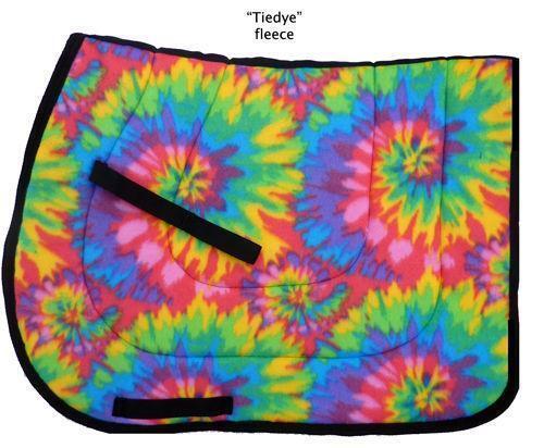 Tie Dye Saddle Pad Ebay