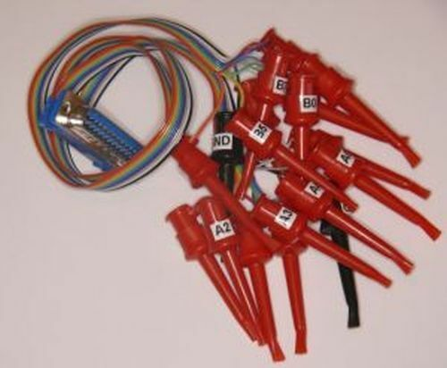 16 Channel Logic Probe with Clips