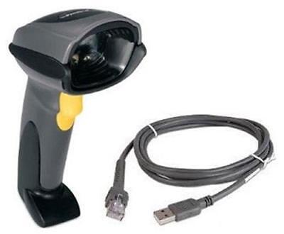 Symbol Ds6707 Handheld Laser 2d Barcode Scanner Ds6707-sr20007zzr W Usb Cable