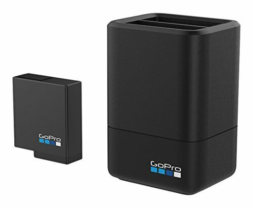 GoPro Dual Battery Charger and Battery For HERO 5 and 6 Black GoPro