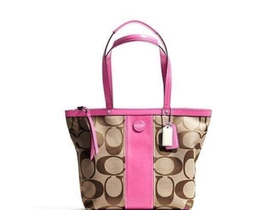 e6d6e64277bf Coach Pink Brown  Handbags   Purses