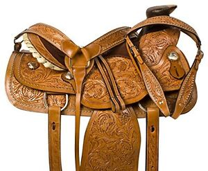 """15"""" 16"""" 17""""  Western Saddles Wade Cowboy Ranch All Leather $697 London Ontario image 2"""