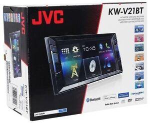 jvc , dvd Bluetooth USB, AUX IPOD, IPHONE ...,Garante un ans
