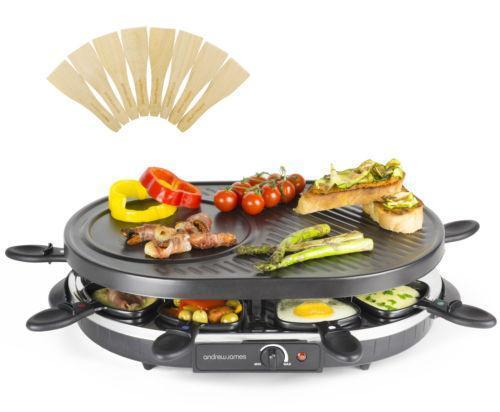 raclette grill ebay. Black Bedroom Furniture Sets. Home Design Ideas