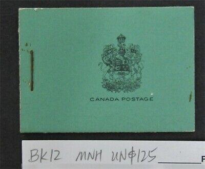 nystamps Canada Stamp # BK12 Mint OG NH UN$125   L16y3154