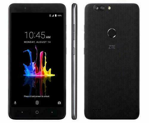 Android Phone - ZTE Blade Z MAX Z982 UNLOCKED 32GB Black Smartphone