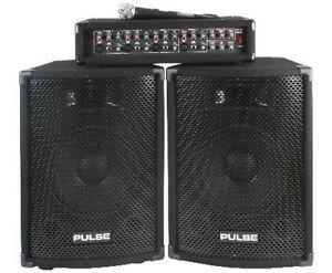 NEW PA DJ System Set w/ 10